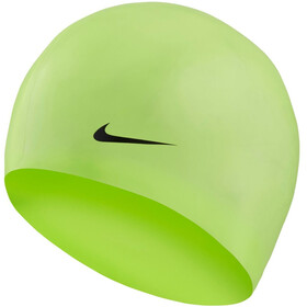 Nike Swim Solid Silicone Cap Volt Glow